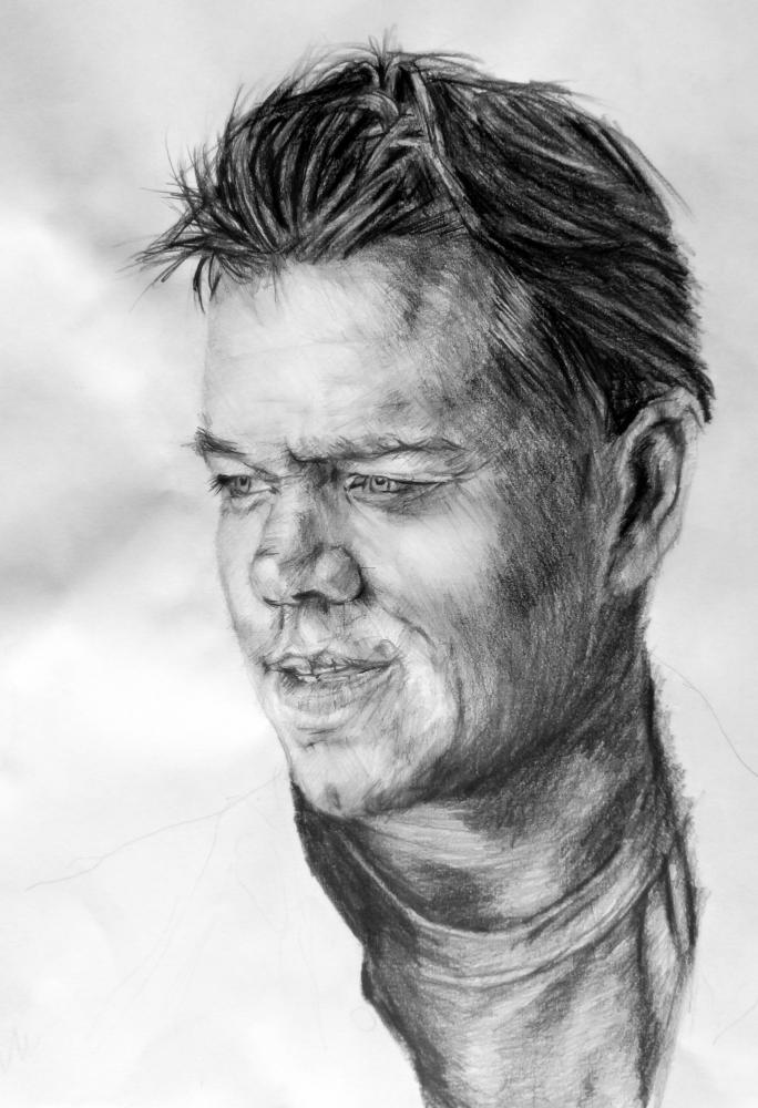 Matt Damon par linshyhchyang